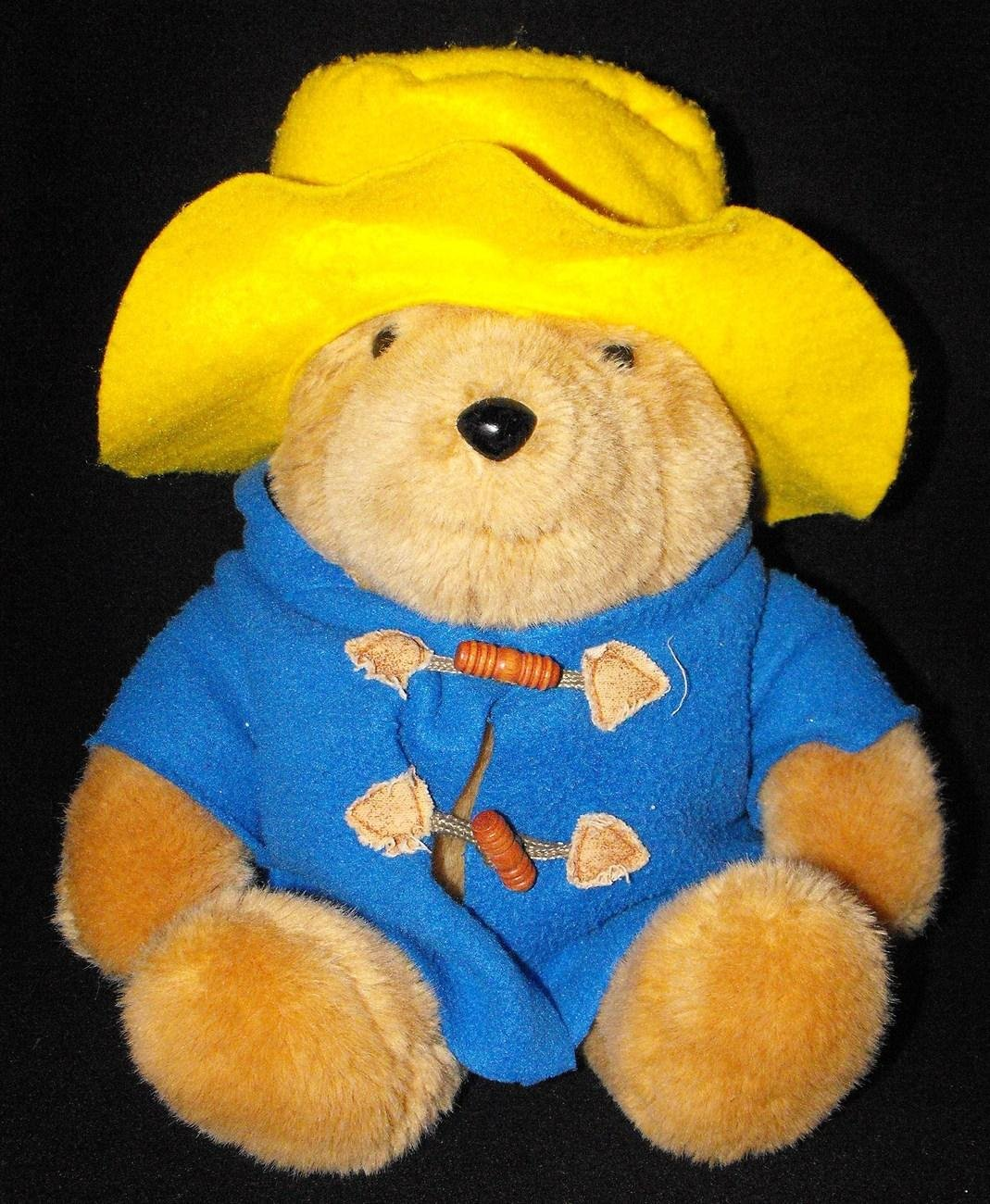 *SOLD~Awaiting Feedback~EDEN TOYS PADDINGTON BEAR COLLECTIBLE 1988