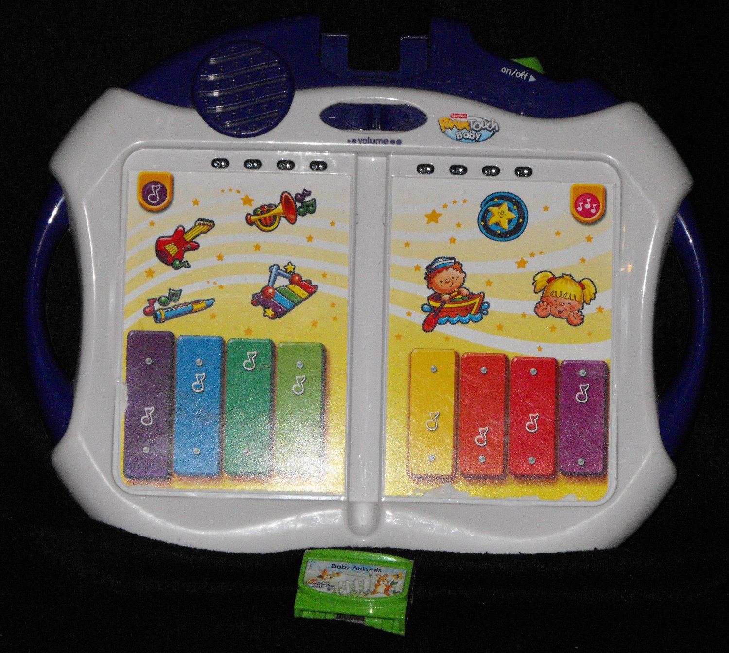 *SOLD~Awaiting Feedback~Fisher Price Power Touch Baby Learning Toy