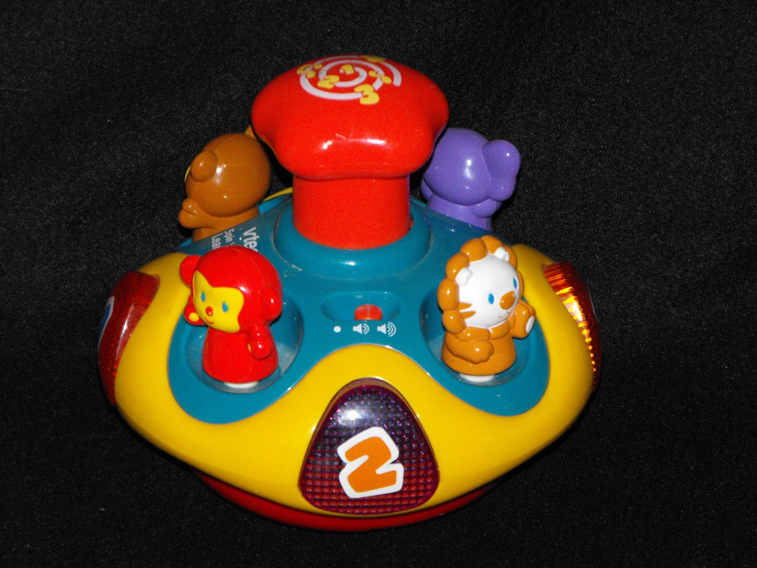 Vtech Spin n' Learn Top Colors, Shapes, Music