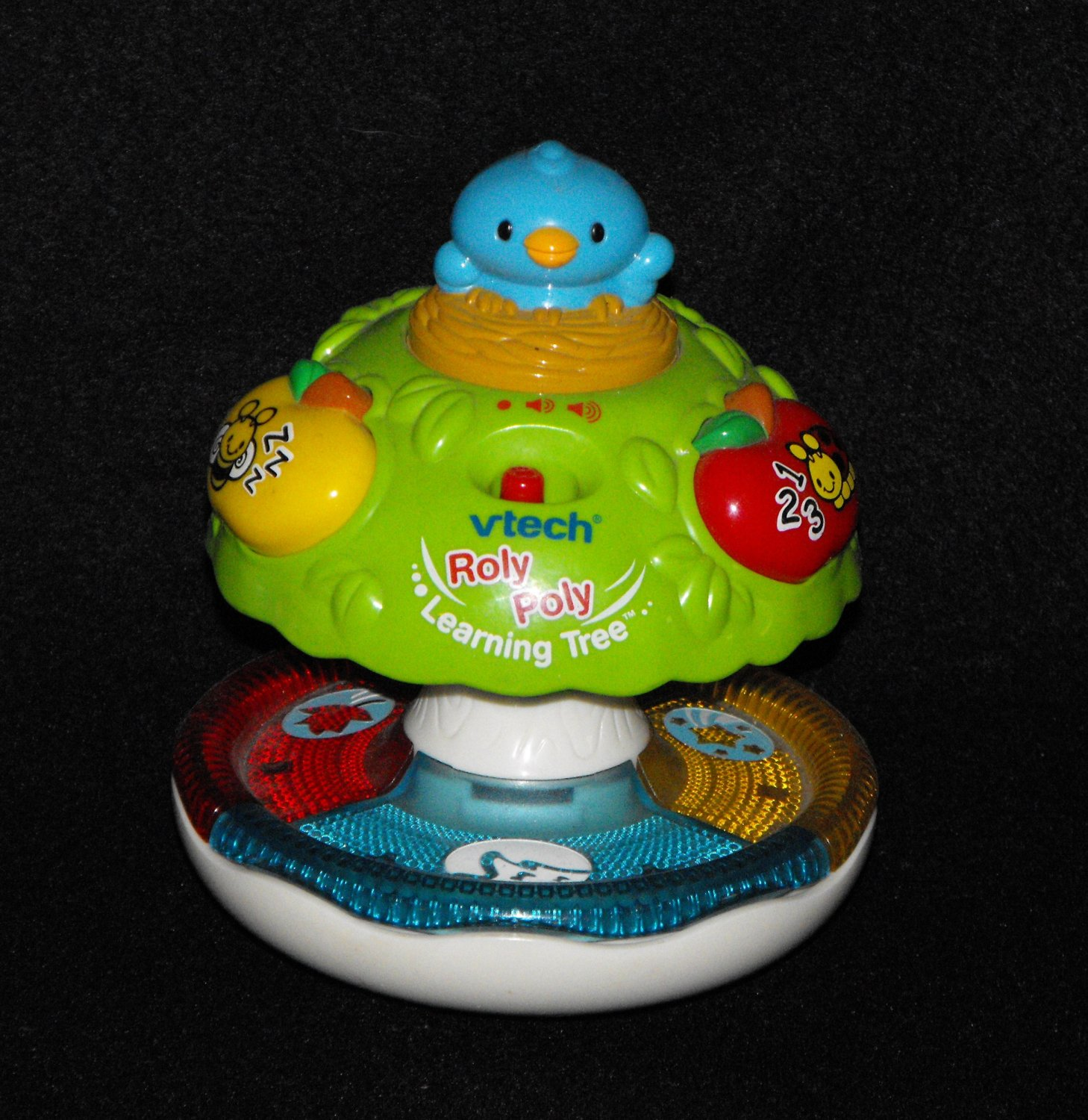 *8/13*SOLD~Vtech Roly Poly Learning Tree Colors, Shapes, Music