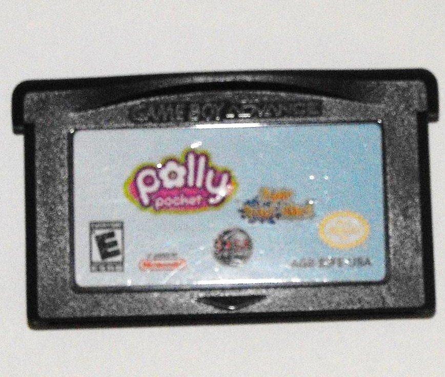 GAME BOY GBA DS POLLY POCKET SUPER SPLASH ISLAND GAME