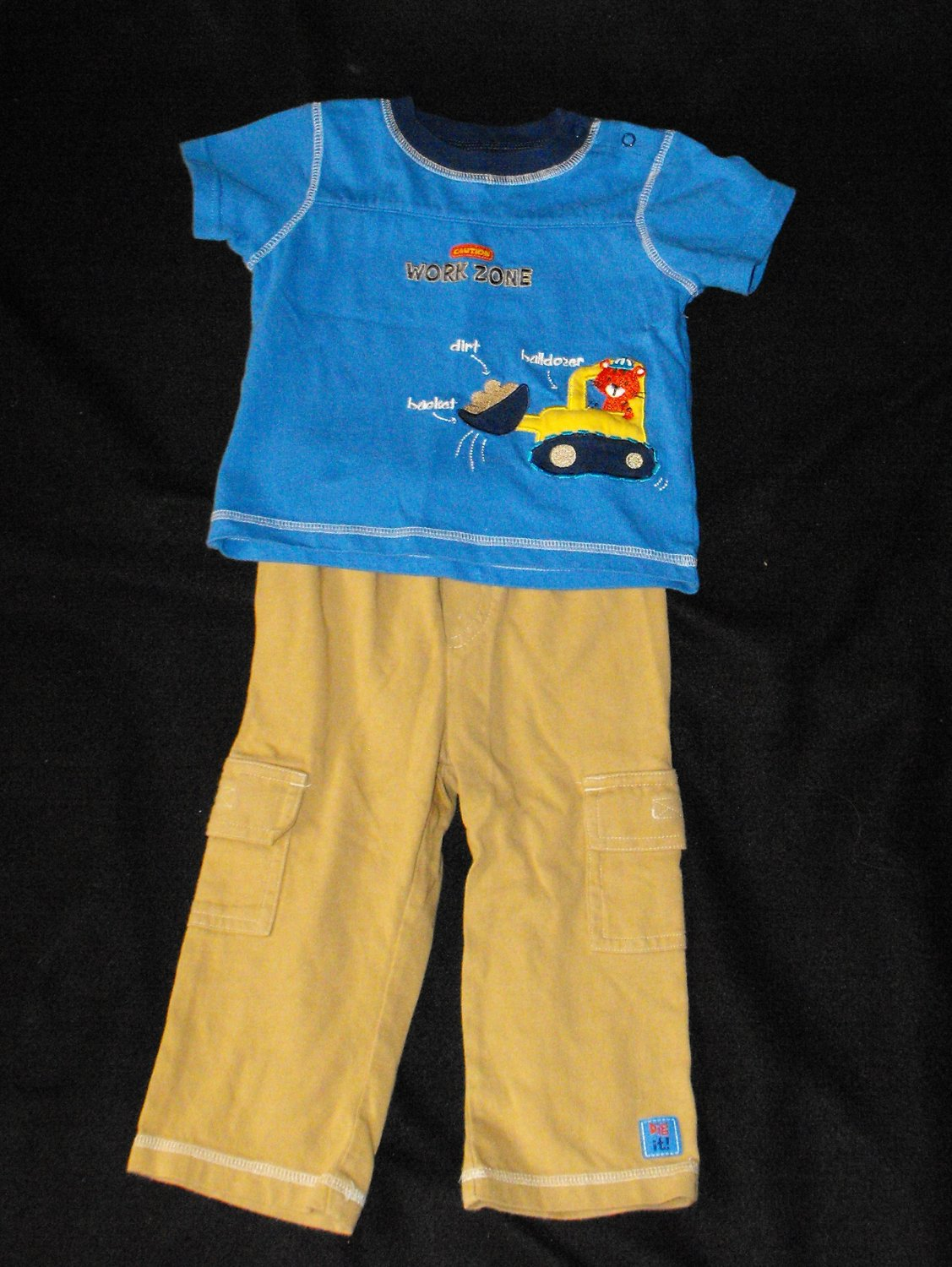 Carter's Child of Mine Construction Theme 18 Months Boys Outfit