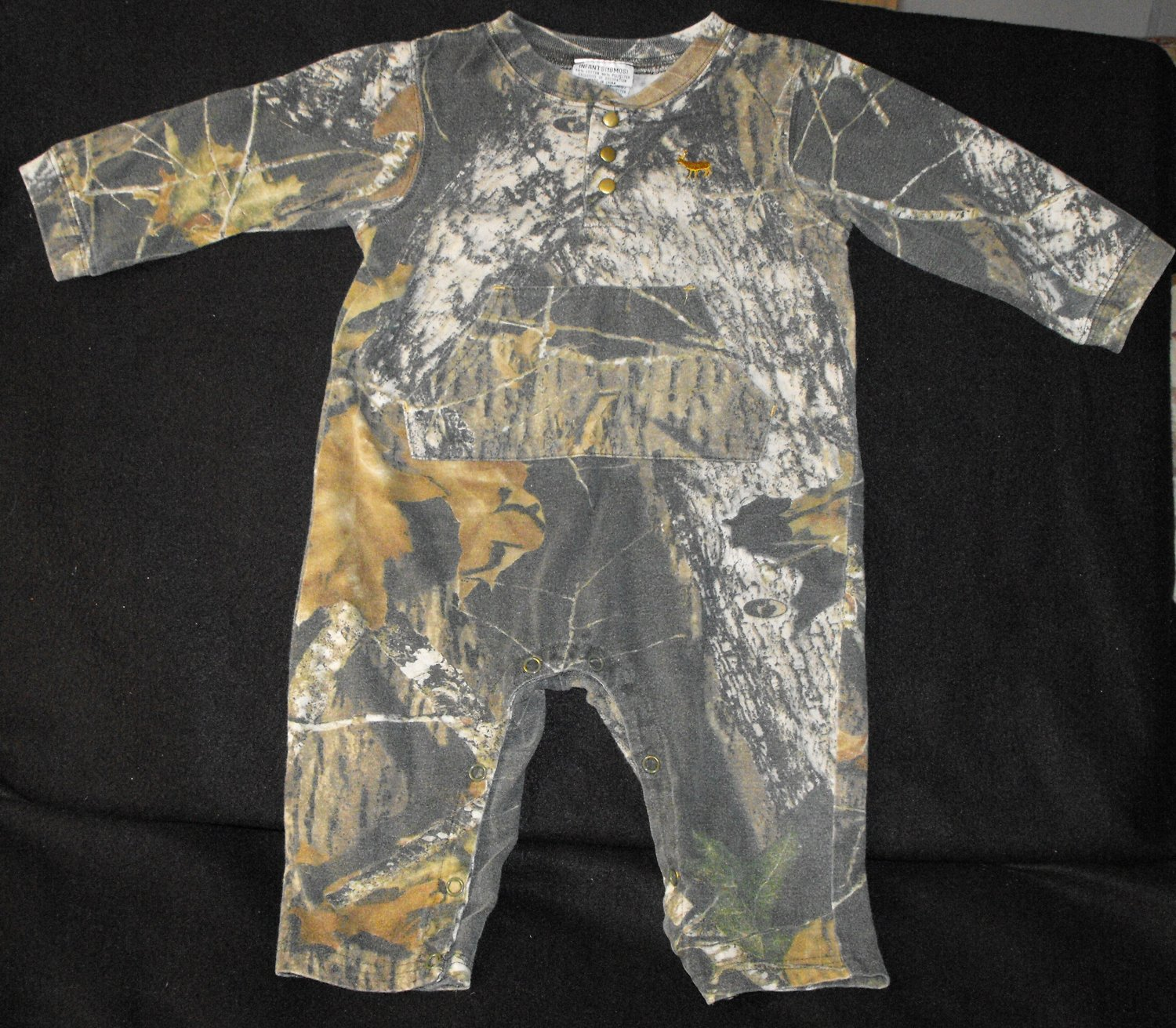 2*SOLD~Mossy Oak Camo 18 Months Boys Outfit