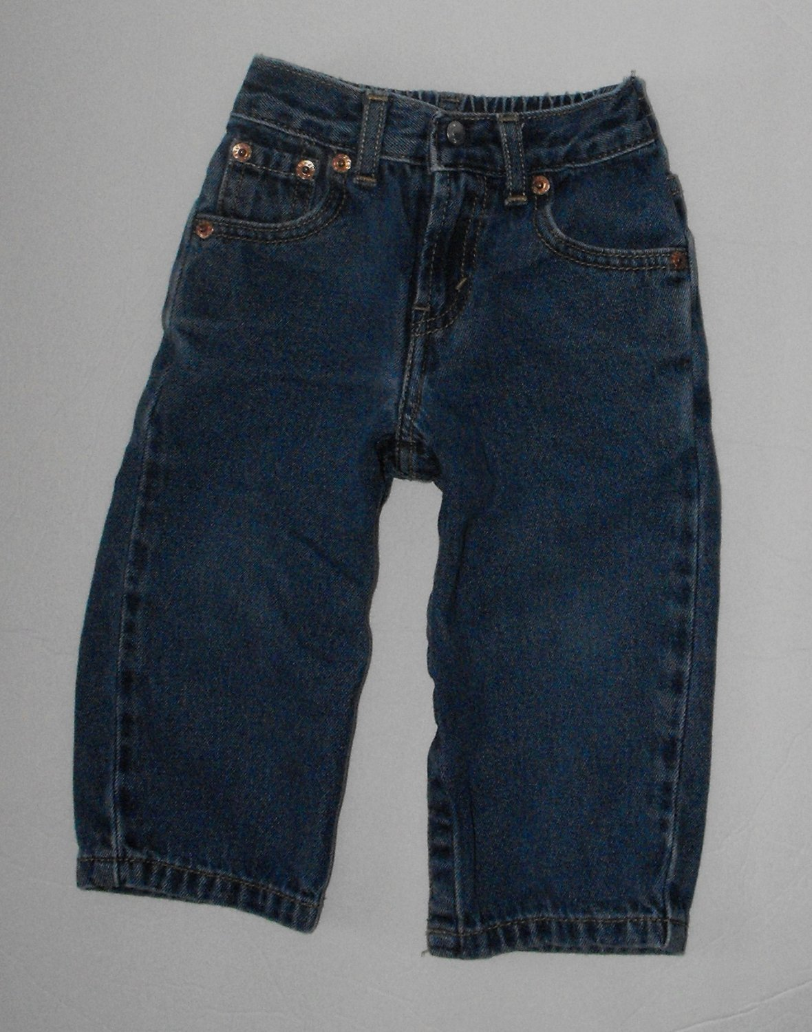 *4/11*SOLD~Levi's Baby Boys 18-24 Months Jeans Snap Legs