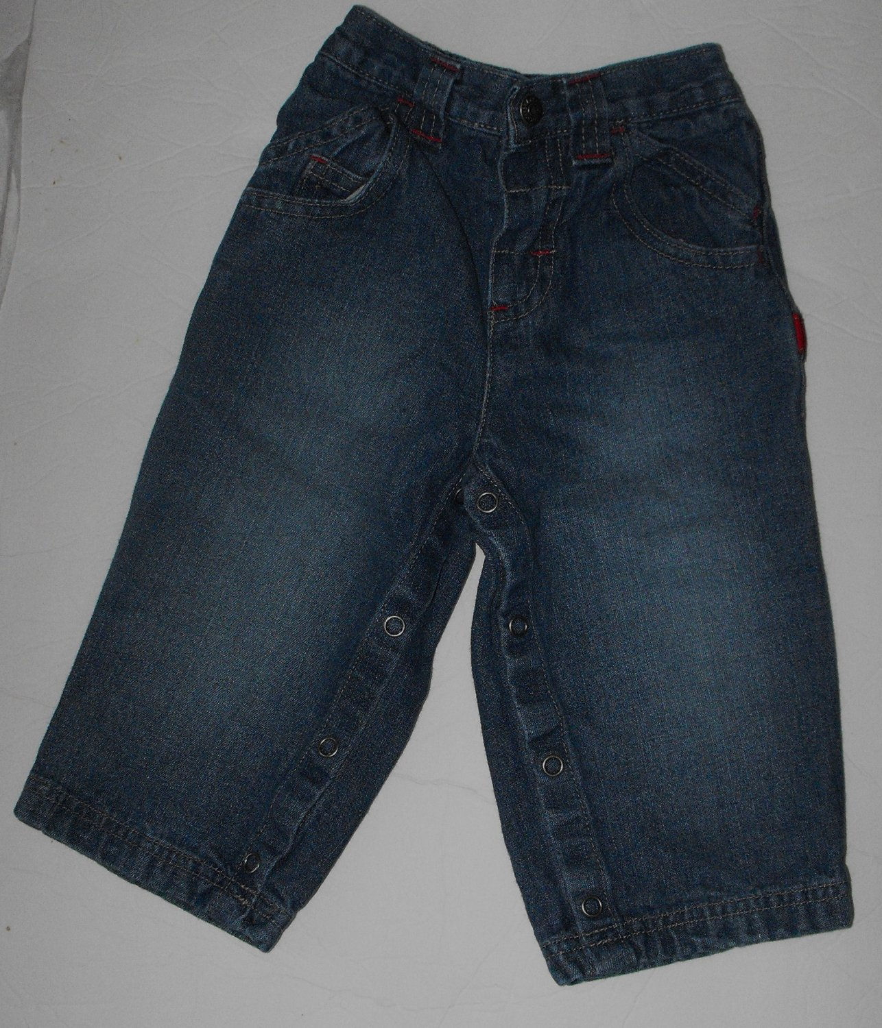 11*SOLD*Lee  Baby Boys 18-24 Months  Snap Leg Jeans
