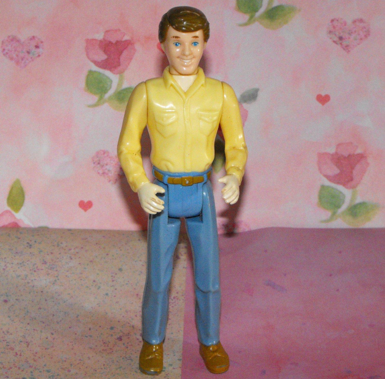 11*SOLD~Playskool Dollhouse Dad Doll Figure