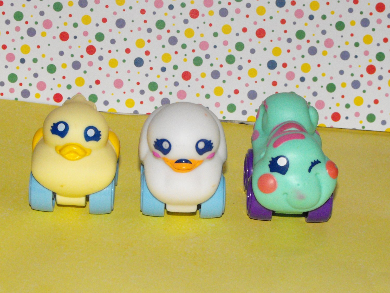 Playskool Wheel Pals Mini Duck Swan Caterpillar Lot
