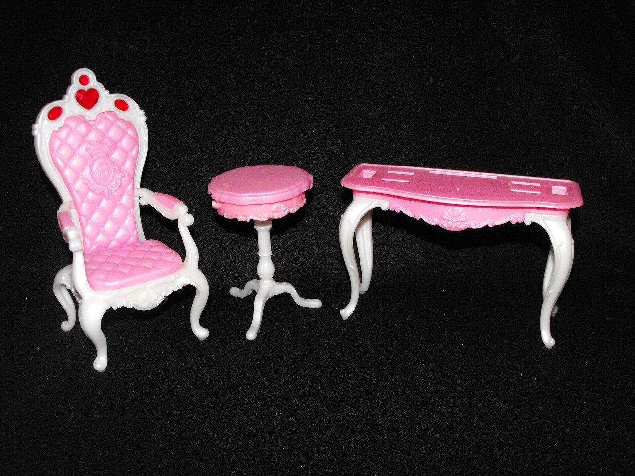 Romantic Princess Barbie Parlor Princess Playset Parts