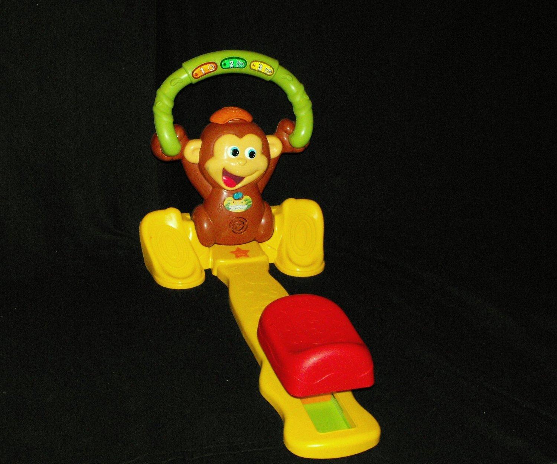 V-Tech Monkey Moves Smart Seat Baby Toy