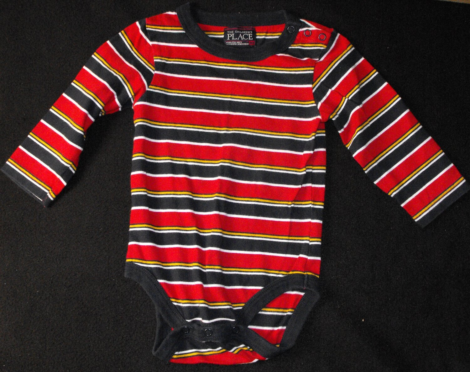 *SOLD~Awaiting Feedback~The Children's Place TCP Baby Boys 18 Months Longsleeve Bodysuit