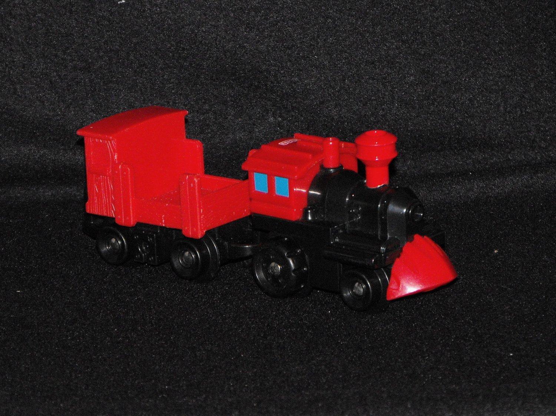 Fisher Price Geo Trax Push GeoTrax Steamline Station Train  Vehicle