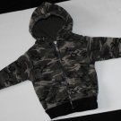 Athletic Works Baby Boys 18 Months Camo Sweat Jacket