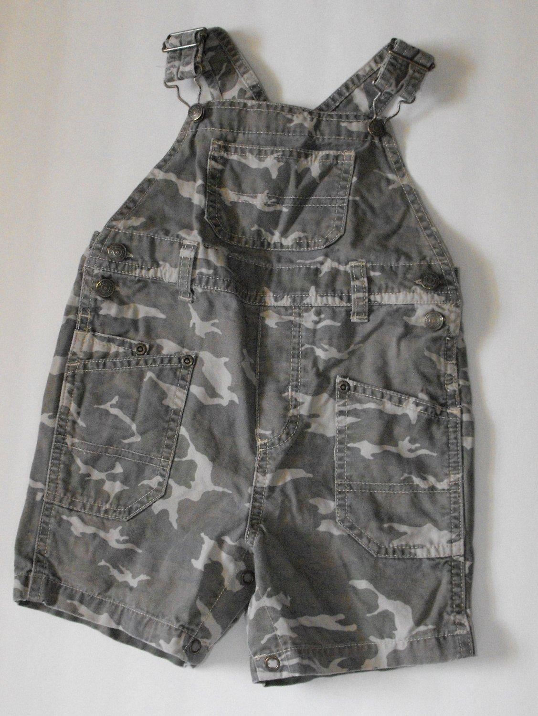 Greendog Toddler Baby Boys 18 Months Camo Shortalls Shorts  Outfit