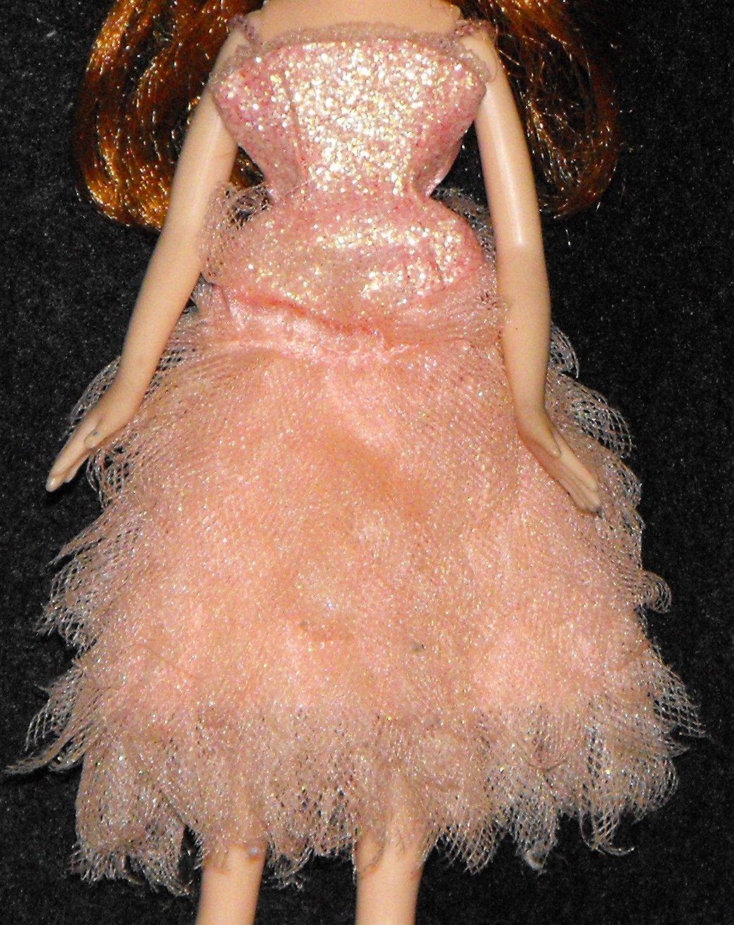 Bratz Formal Funk Jade Peach Dress