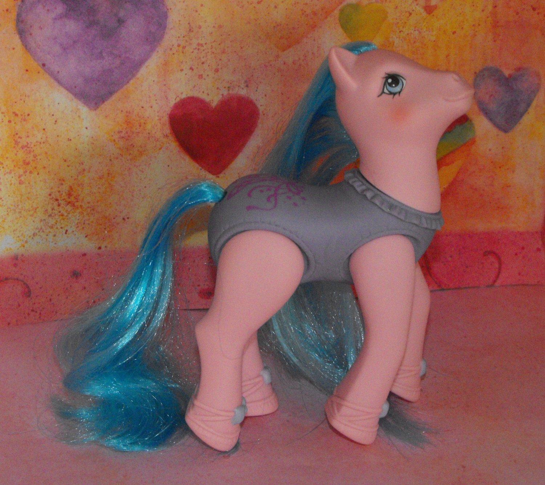 Vintage My Little Pony Sweet Steps Silky Slipper G1