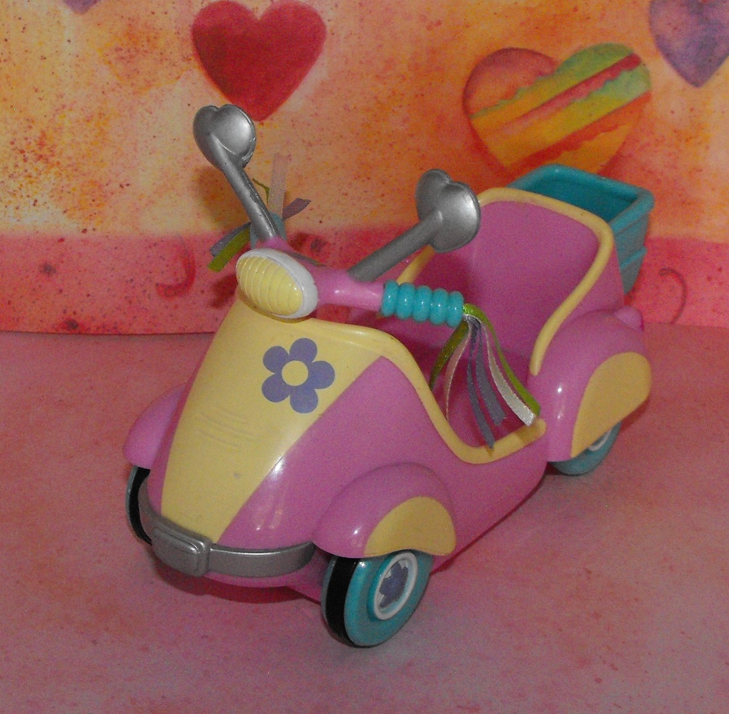 My Little Pony 2004 Breezie's Scootin' Along Scooter G3