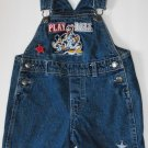 Disney Mickey Mouse Toddler Baby Boys 18 Months Jean Shortalls Shorts  Outfit