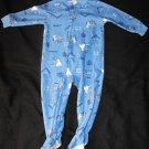 Carter's Baby Boys 18 Months One Piece Footie Sleeper Pj Puppy Dogs