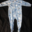 Carter's Baby Boys 18 Months One Piece Footie Sleeper Pj Winter Fun