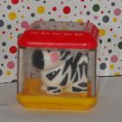 Fisher Price Peek A Blocks Tumblin' Sounds Giraffe Zebra Block Replacement Part