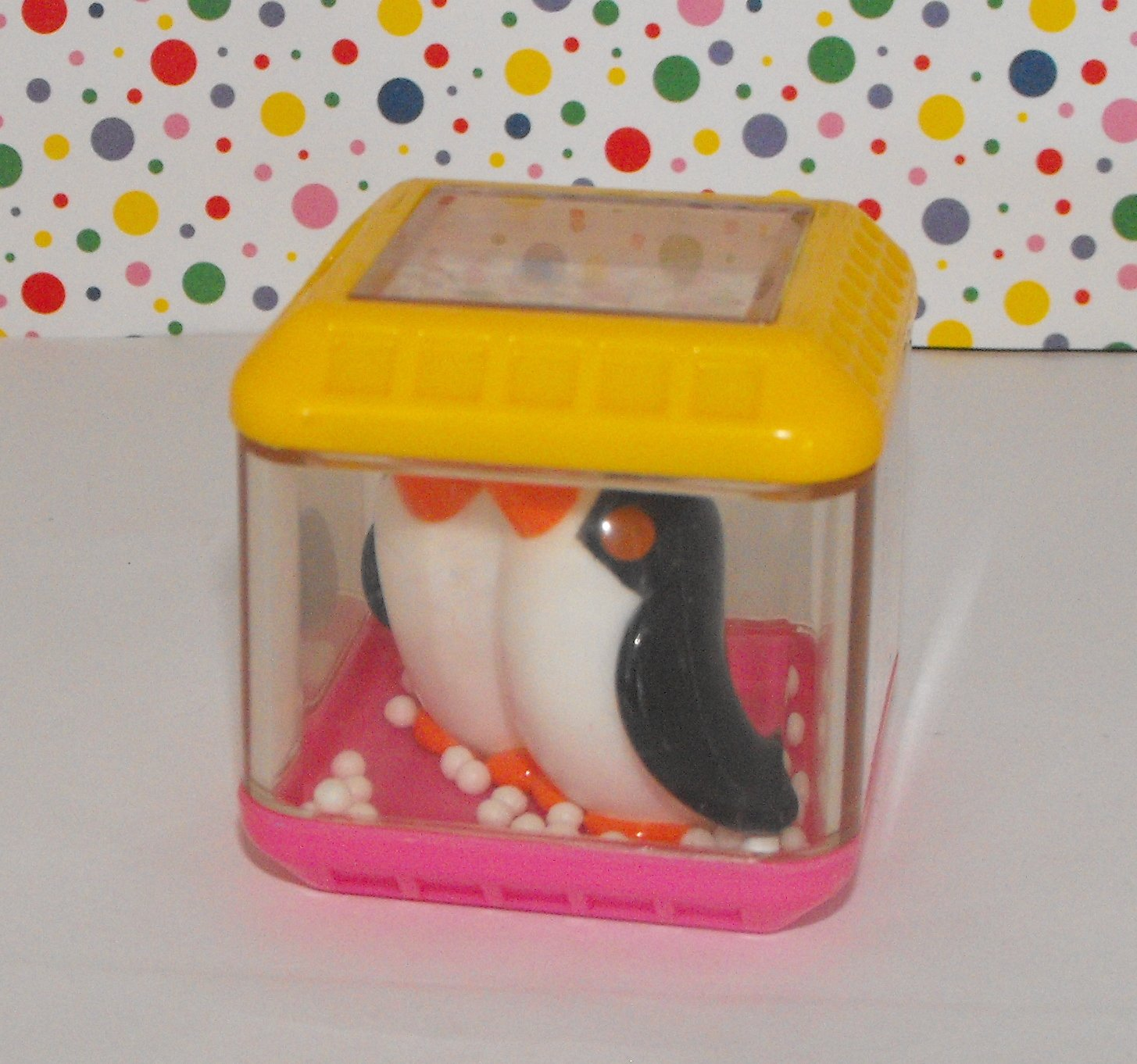 Fisher Price Peek A Blocks Rock and See Ark Penguins Block Replacement Part