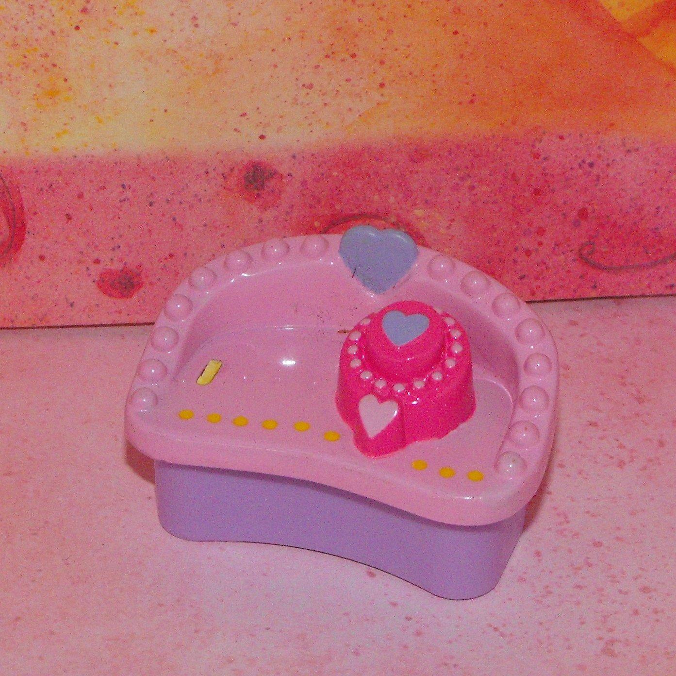 My Little Pony Ponyville? Bench Trunk Chest Part