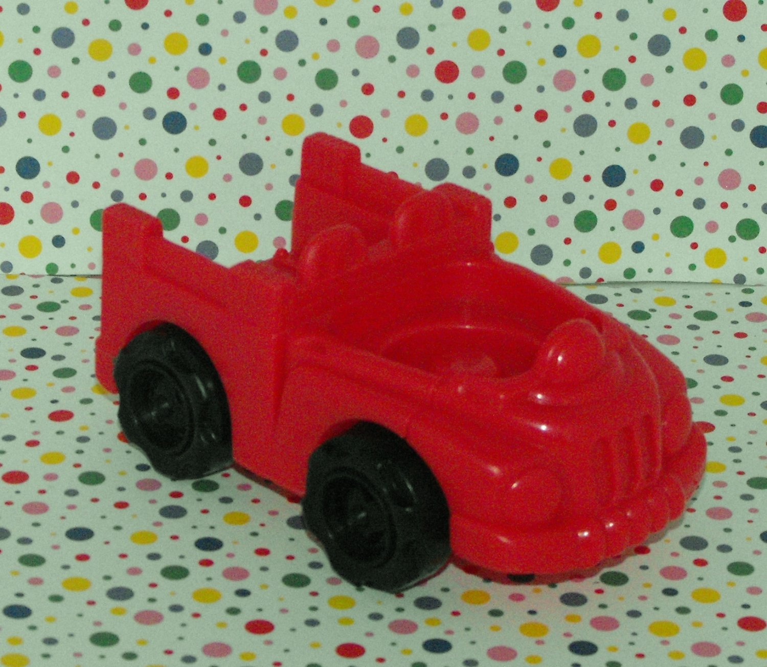 Fisher Price Little People Red Farm Truck