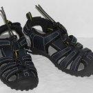 Osh Kosh Boys Navy Toggle Fron Sandals Size 9 NWOT