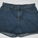 Women's Misses Lee Riders Low Rise Jean Shorts 16M