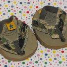 Build a Bear Workshop Clothes Camouflage Sandals Shoes