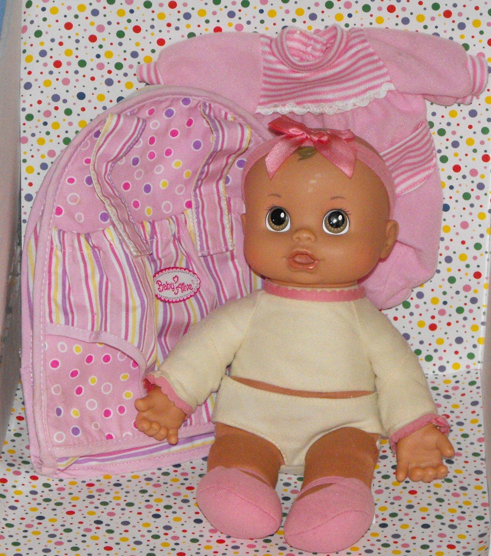 6 13 Sold Hasbro Baby Alive Baby Go Bye Bye Hispanic Doll
