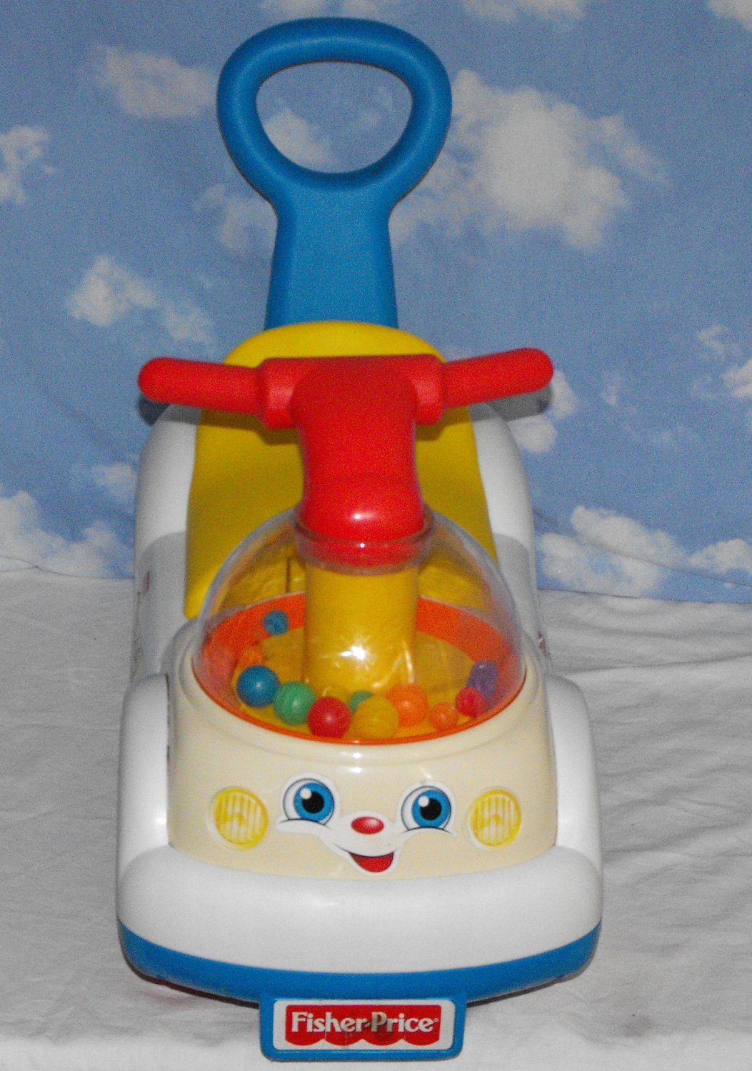 *SOLD~Awaiting Feedback~Fisher-Price Corn Popper Ride-On Walker Push Toy