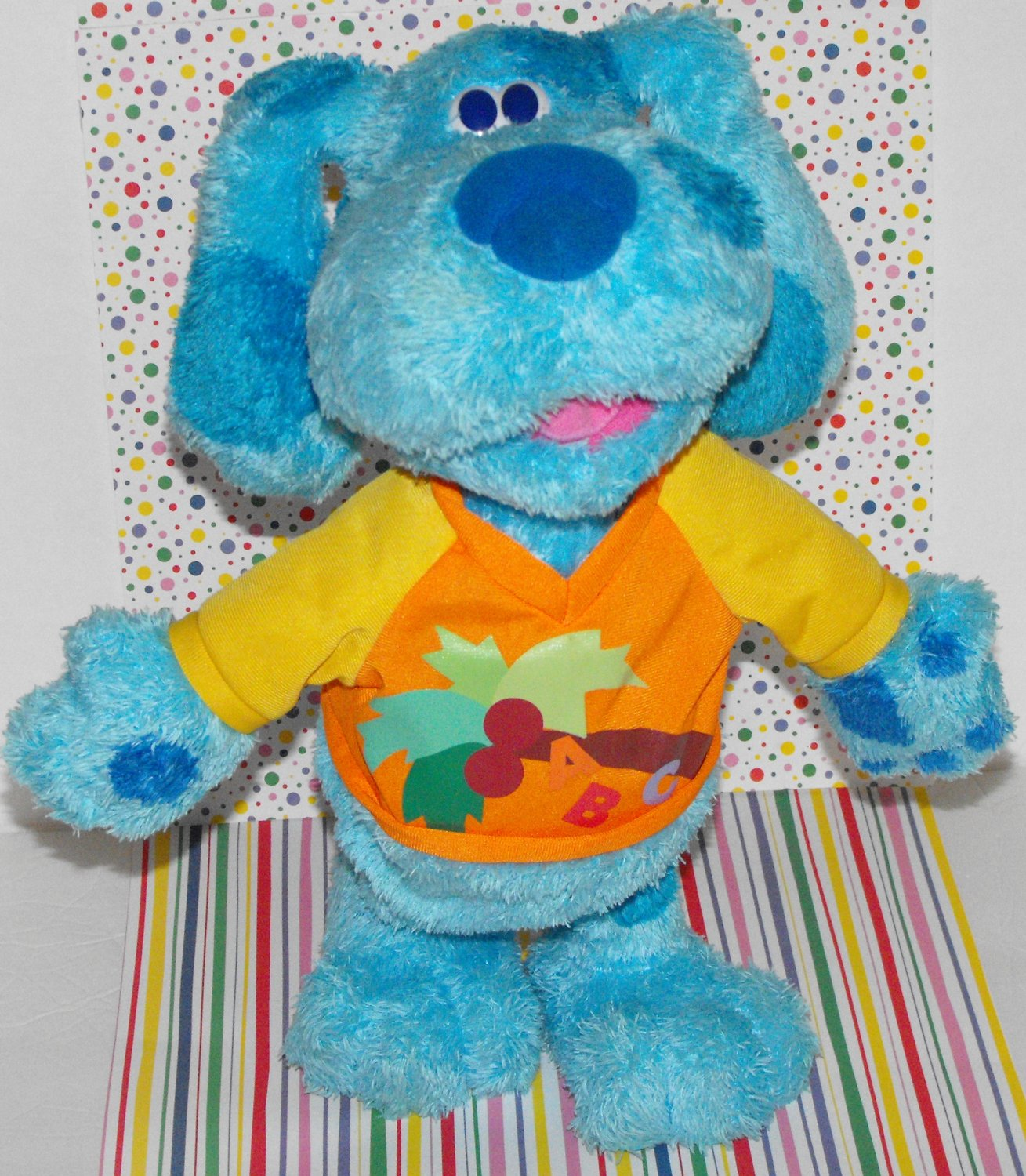 ~SOLD~Awaiting Feedback~Chicka Chicka Conga Blue Blues Clues ABC Dancing Learning