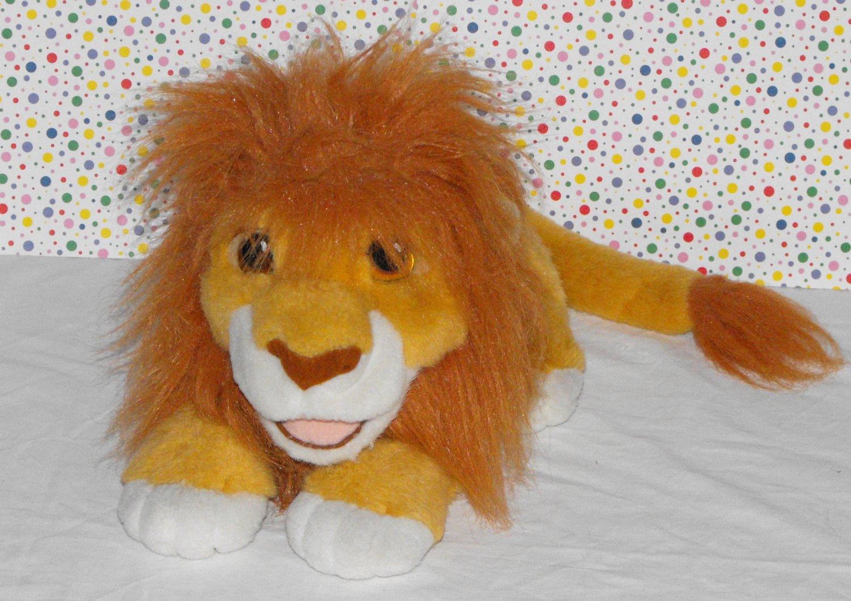 *SOLD*Disney's The Lion King 1993 Talking Roaring Stuffed Plush Simba