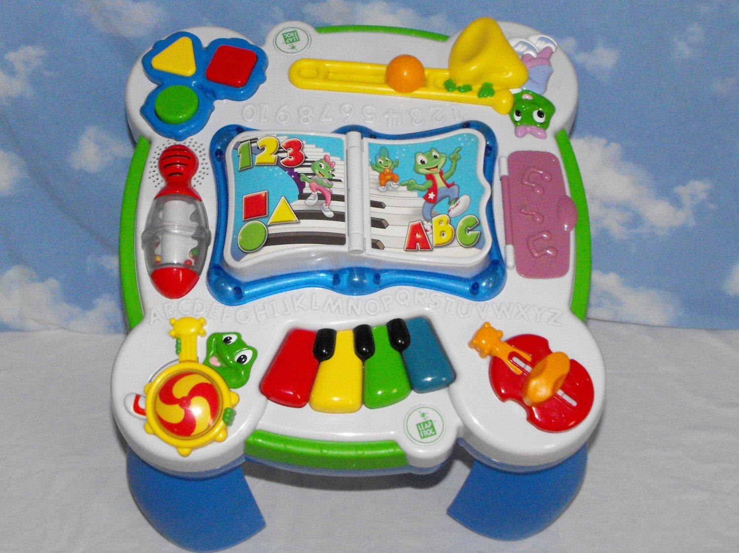 Sold leapfrog learn and groove musical table - Leapfrog table d eveil musical des animaux ...