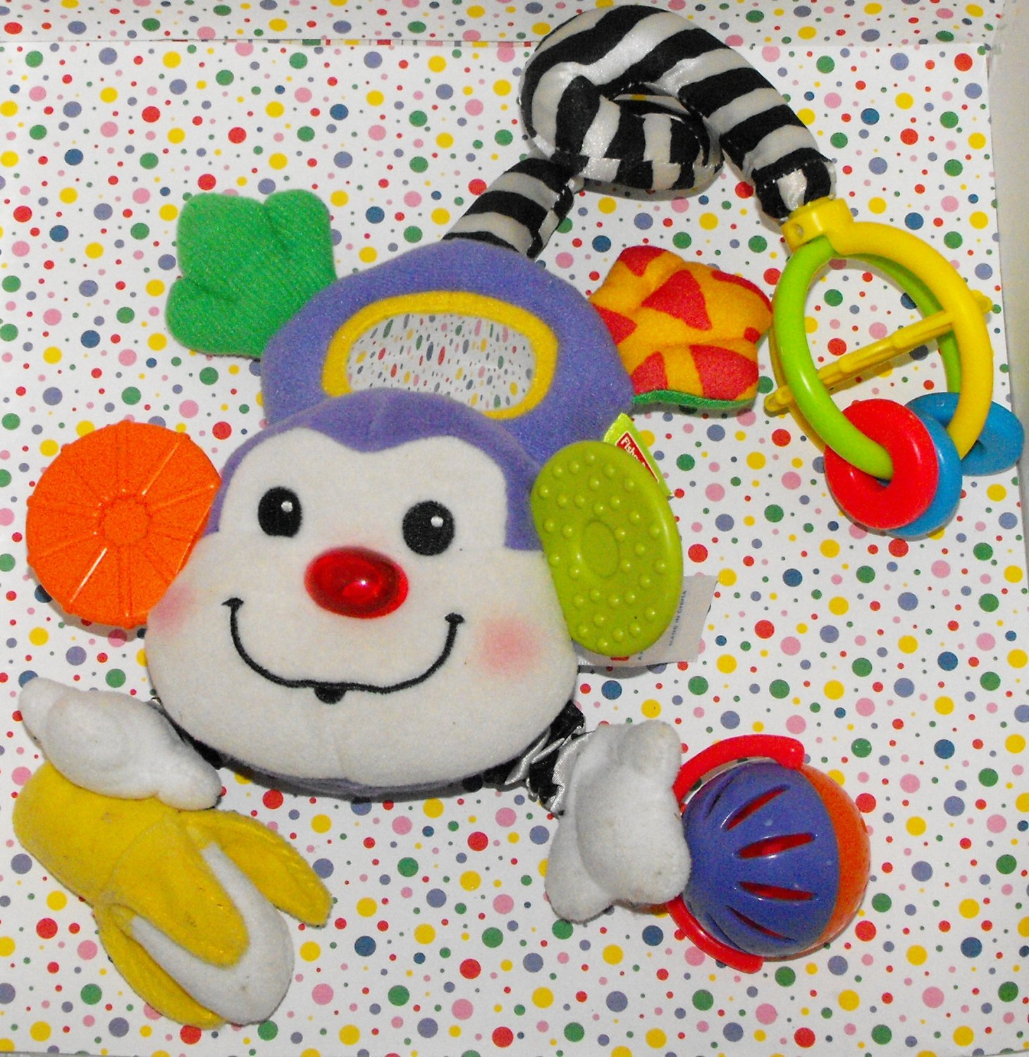 *6/16*SOLD~  Fisher Price Learning Patterns Attach n' Play Monkey