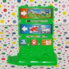 Fisher Price GeoTrax Workin' Town Railway Part Sign