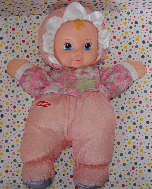 *10/16*SOLD~Hasbro Playskool My Very First Baby Doll 1999