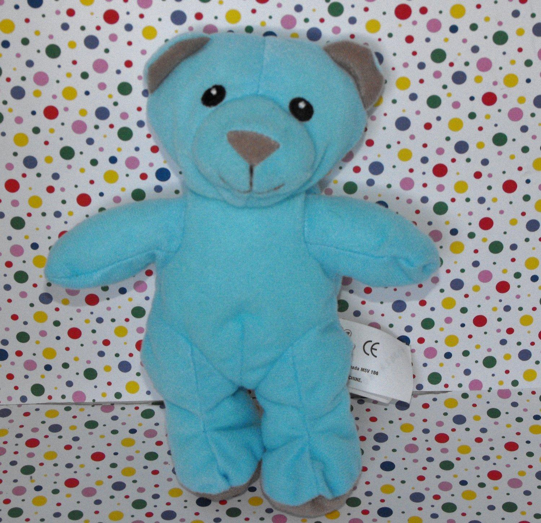 2008 Spin Master Lil Luvables Plush Blue Teddy Bear