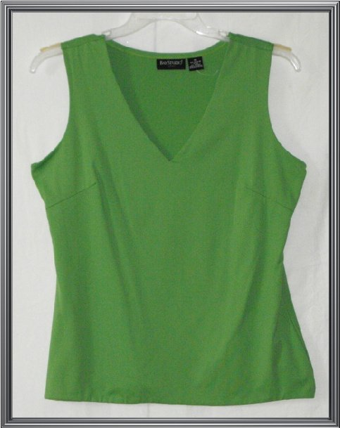 WOMEN'S BAY STUDIO TANK TOP PLUS SIZE 1X