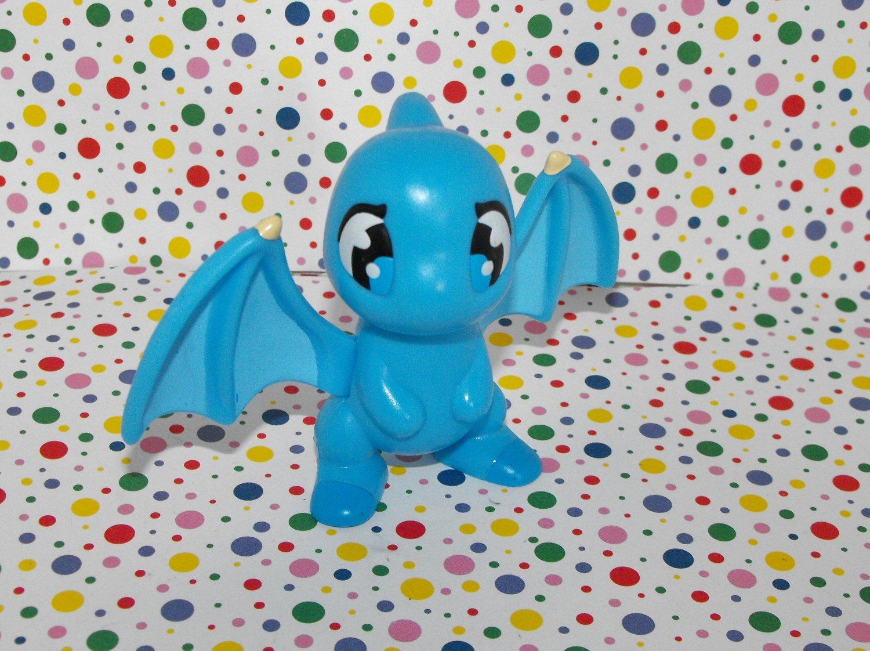 *SOLD~Awaiting Feedback~Neopets Blue Shoyru Burger King Premium Toy Figure