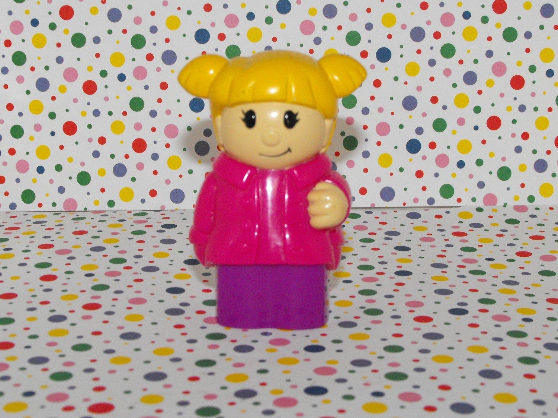 *SOLD~Awaiting Feedback~MegaBlocks Mega Bloks Girl with Pigtails Figure Part