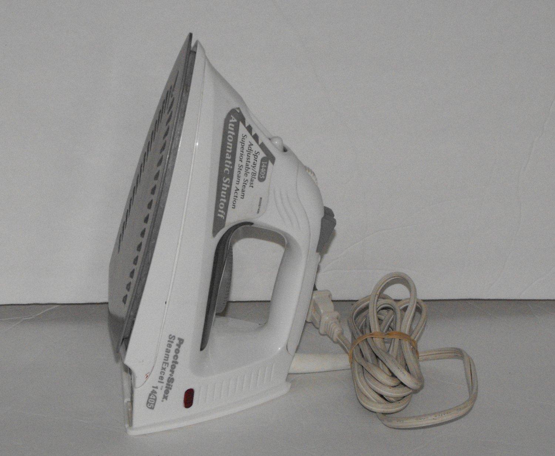 Proctor Silex Steam Excel 14-405 Auto Shutoff Iron