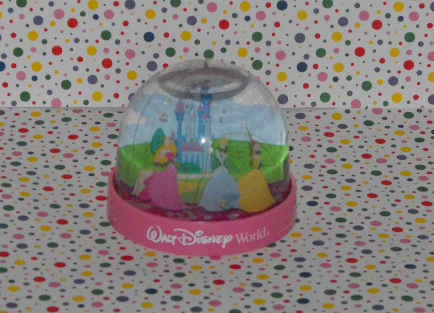 *SOLD~Awaiting Feedback~Walt Disney World Disney Princesses Snow Globe