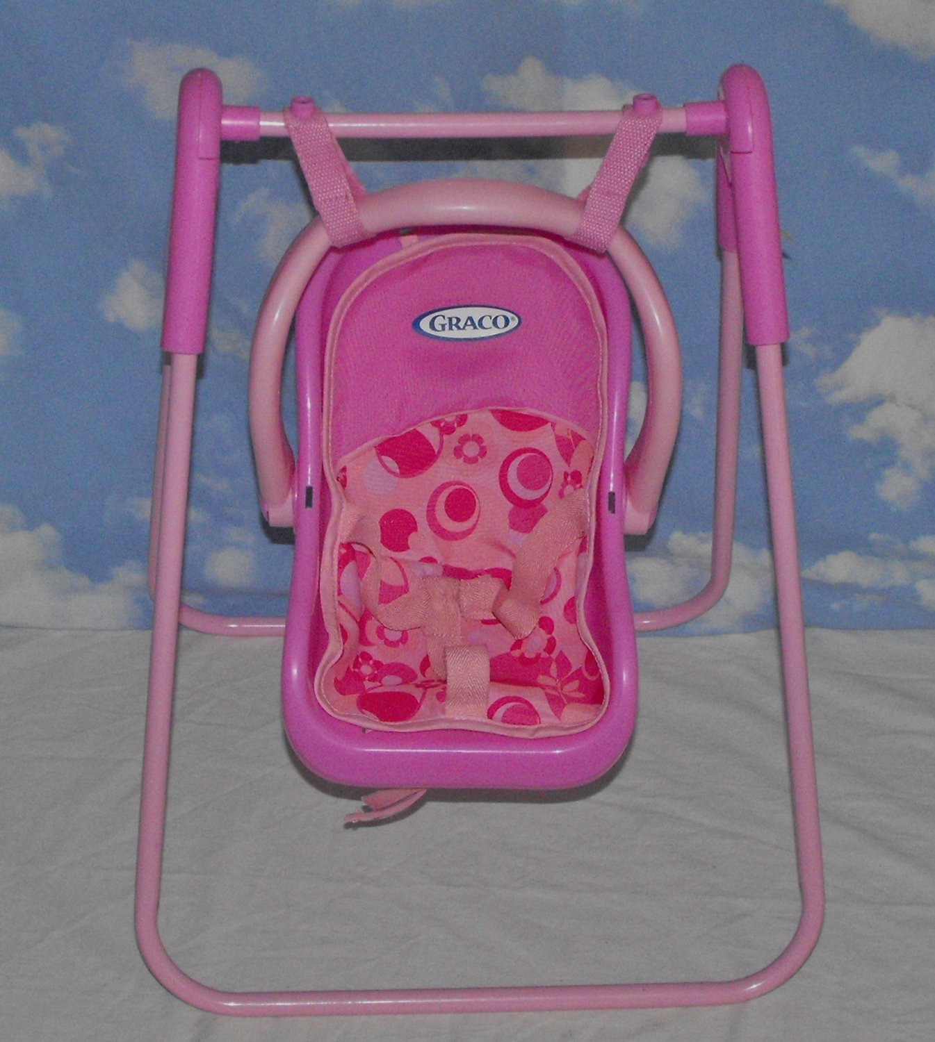 *SOLD~Awaiting Feedback~Graco Tollytots Baby Doll Swing ...