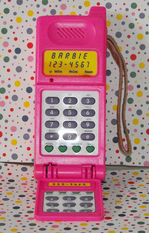 *SOLD~Awaiting Feedback~Barbie Super Talking Flip Phone