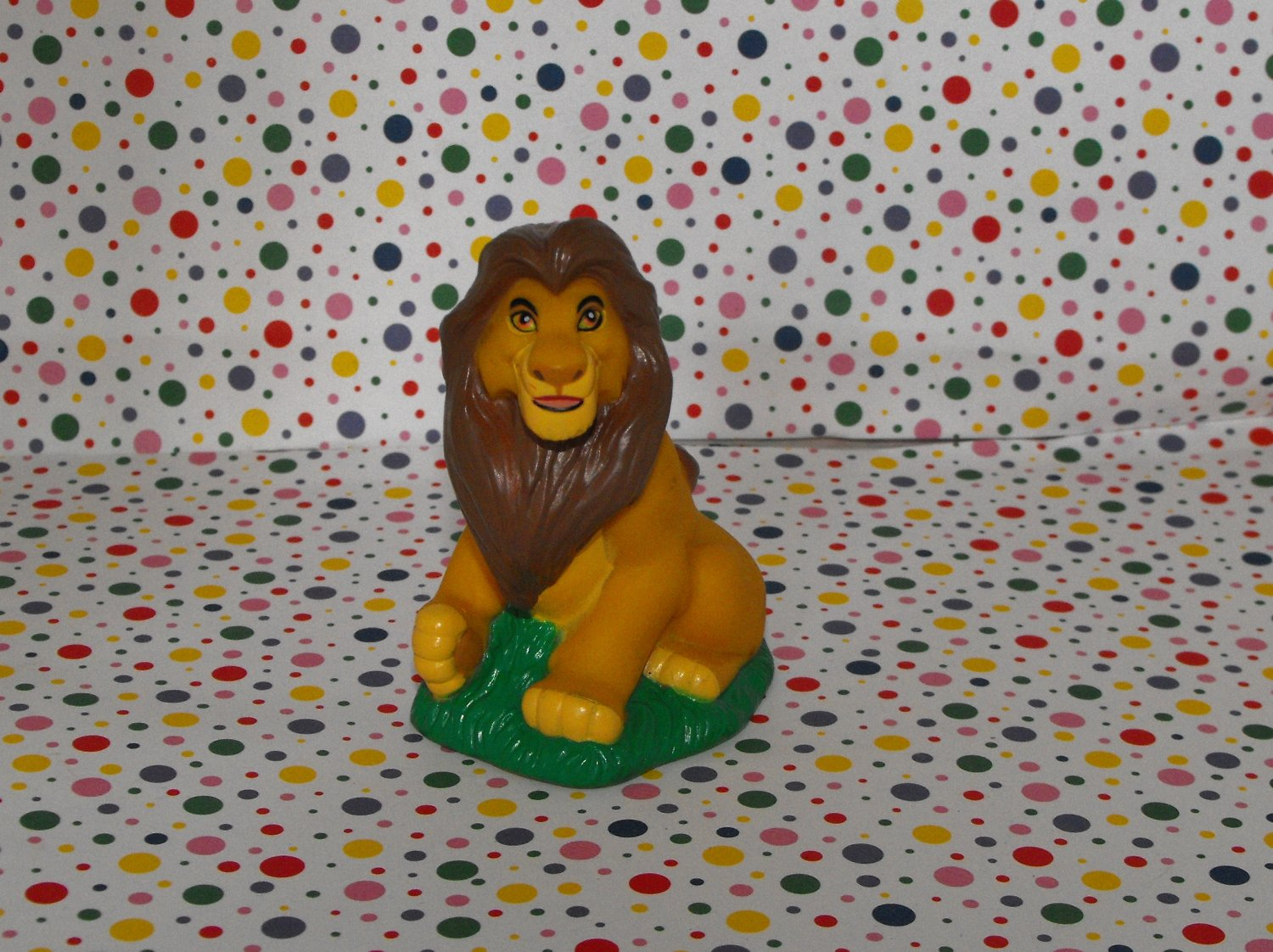 *2/16*SOLD~Disney Lion King Mufasa PVC Figure Cake Topper