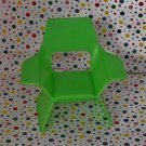 1974 Mattel Barbie Lime Green Swivel Chair