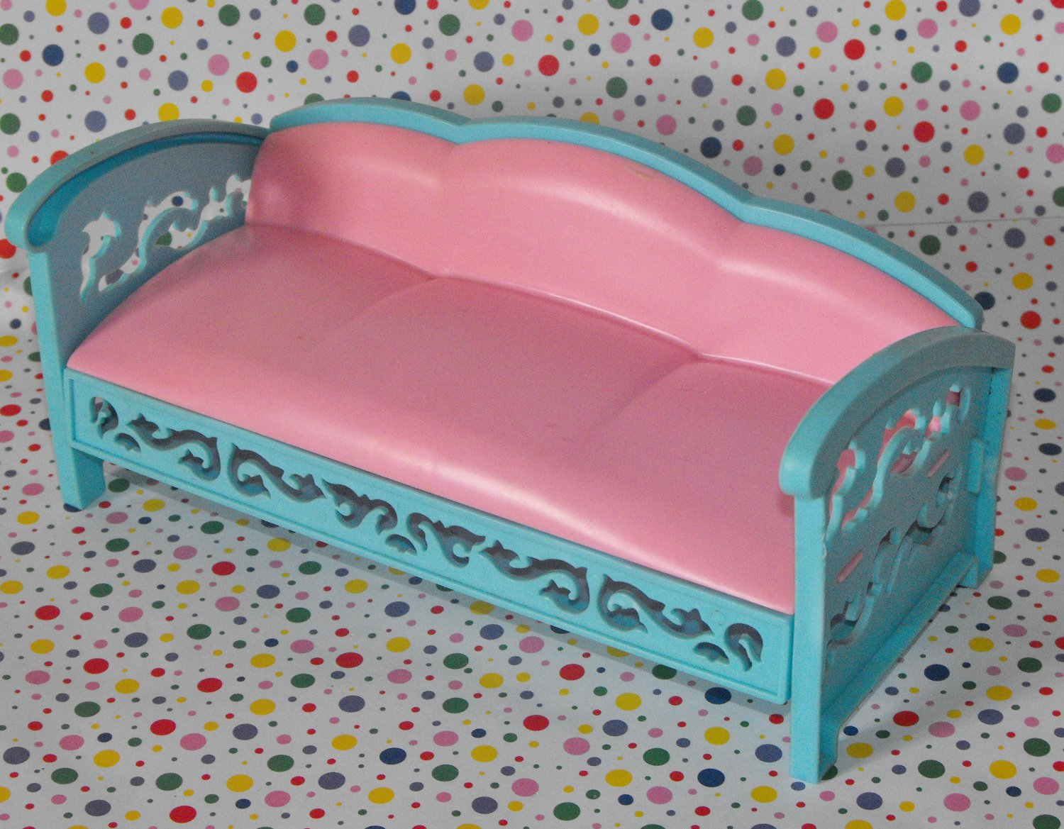 *SOLD~Awaiting Feedback~Vintage Barbie Patio Couch
