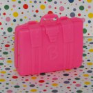 Barbie Bright Pink Suitcase